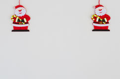 Christmas background. With Santa Claus Stock Photos