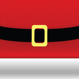 Christmas background with santa claus belt and golden buckle Stock Photo