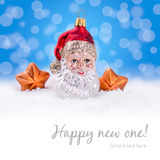 Christmas Background - Santa Claus Royalty Free Stock Images