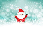 Christmas background with santa claus. Background christmas and happy new year Stock Photography