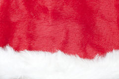 Christmas background with santa claus hat Stock Photos