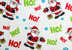 Christmas background with Santa Claus Stock Photography