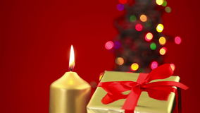 Christmas background scene with copy space Royalty Free Stock Photo