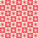 Christmas background seamless pattern Stock Photography