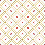 Christmas background, seamless tiling, great choice for wrapping paper pattern Stock Photography
