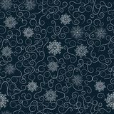 Christmas background, seamless royalty free illustration