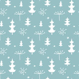 Christmas background, seamless tiling pattern texture vintage Royalty Free Stock Image