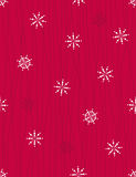 Christmas background - seamless vector pattern. Red Christmas background - seamless vector pattern Stock Images