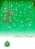 Christmas Background. For seasonal cards and event, posters Royalty Free Illustration