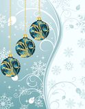 Christmas background with set balls. Illustration Christmas background with set balls - vector Vector Illustration