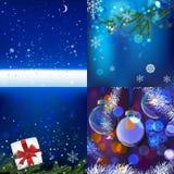 Christmas Background set Royalty Free Stock Photo