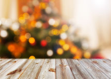 Christmas background. With shining lights Stock Photography
