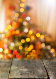Christmas background. With shining lights Royalty Free Stock Photo