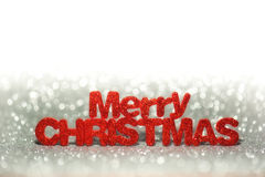 Christmas background. With shining lights Stock Images