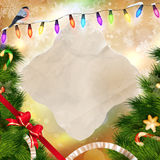 Christmas background. Christmas background with shining lights. vector file included Royalty Free Stock Photography