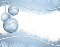 Christmas background in silver Royalty Free Stock Photography