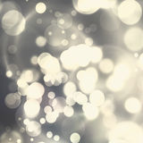 Christmas Background. silver Holiday background. Stock Photos