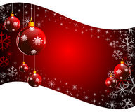 Christmas background in sliding pattern Stock Photography