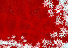 Christmas background from snow Royalty Free Stock Photo
