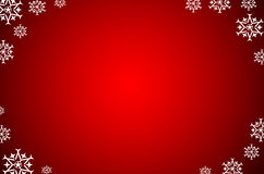 Christmas background with snow Royalty Free Stock Photos