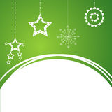 Christmas background with snowflake. Stock Photography