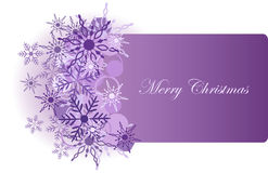 Christmas background with snowflake Royalty Free Stock Photos