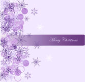 Christmas background with snowflake Royalty Free Stock Image