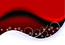 Christmas background - snowflake Stock Images
