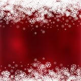 Christmas background with snowflake design. Decorative Christmas background with snowflakes design stock illustration