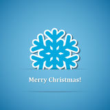 Christmas background with snowflake Stock Image