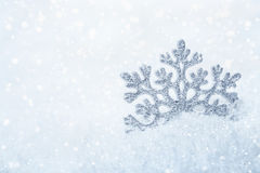 Christmas background Snowflake Royalty Free Stock Images