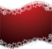 Christmas background with snowflakes Royalty Free Stock Images