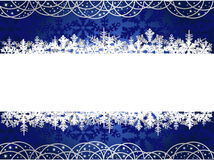 Christmas background with snowflakes Royalty Free Stock Photos