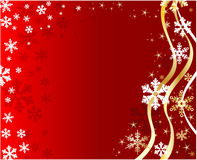 Christmas background with snowflakes. Christmas background  red color  with snowflakes Stock Photos