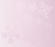 Christmas background snowflakes Royalty Free Stock Photo