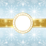 Christmas background with snowflakes. Royalty Free Stock Photos