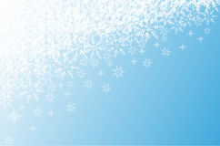 Christmas background with snowflakes. Editable and scalable vector illustration Stock Photos