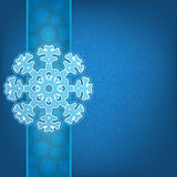 Christmas background and snowflakes. + EPS8 vector file Royalty Free Illustration