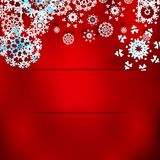 Christmas background with snowflakes. Stock Image