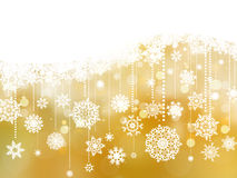 Christmas background with snowflakes. EPS 8 Royalty Free Stock Images