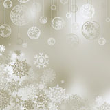 Christmas background with snowflakes. EPS 8 Royalty Free Stock Image