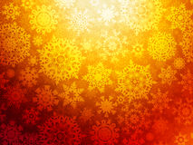 Christmas background with snowflakes. EPS 8 Royalty Free Stock Photo