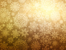 Christmas background with snowflakes. EPS 8 Stock Photo