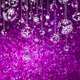 Christmas background with snowflakes. EPS 8 Royalty Free Stock Photography