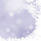 Christmas background with snowflakes. EPS 10. Vector file included Royalty Free Stock Image