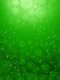 Christmas background with snowflakes. EPS 10 Stock Photography