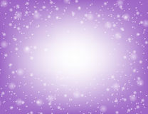 Christmas background with snowflakes and place for text. Violet winter abstract background. Christmas background with snowflakes and place for text. Vector stock illustration