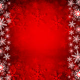 Christmas background with snowflakes. Stock Photo