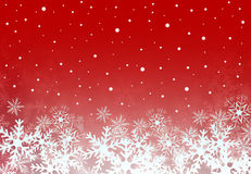 Christmas background with snowflakes. Royalty Free Stock Images