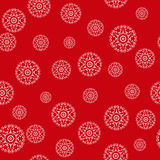 Christmas background with snowflakes, seamless Royalty Free Stock Photo